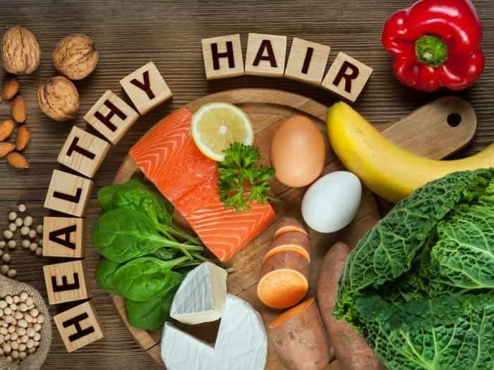 foods for healthy hair grow